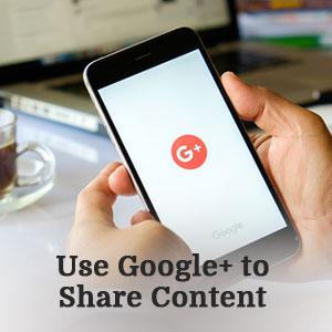 Use Google+