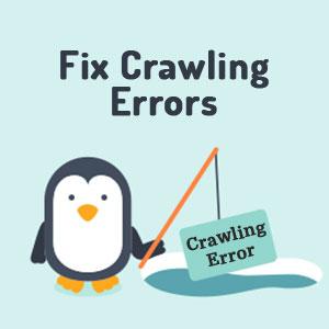 Fix Crawling Errors