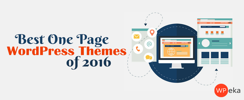 best one page wordpress themes of 2016