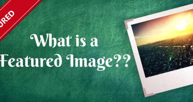 What is Featured Image in WordPress?