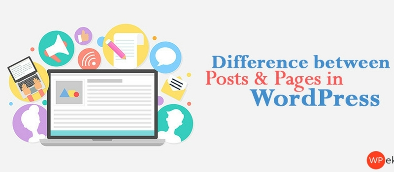 Difference between Posts and Pages