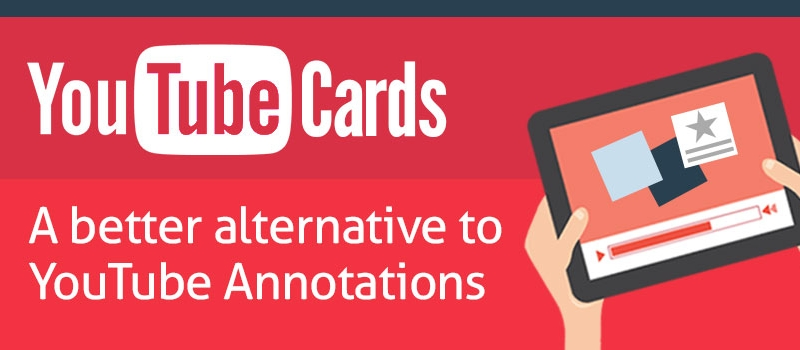 Youtube Cards - Annotations alternative