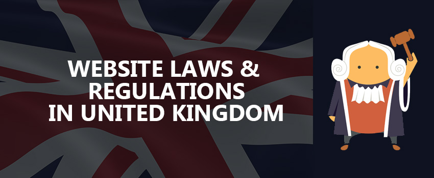 website laws and regulations in uk