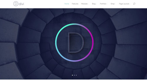 Best One Page WordPress Themes | Divi