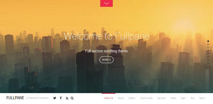 fullpane-one-page-wordpress-theme