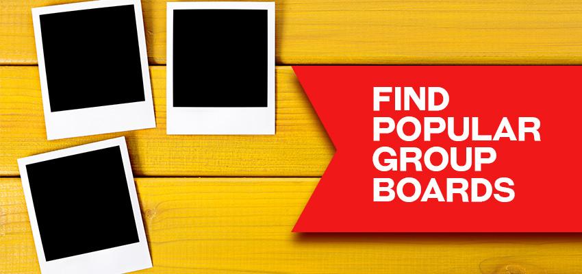 pinterest-marketing-group boards