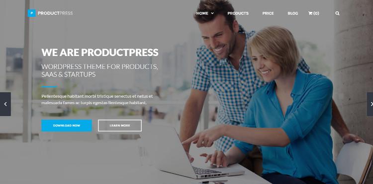 productpress-one-page-wordpress-theme