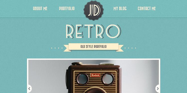 retro-one-page-wordpress-theme