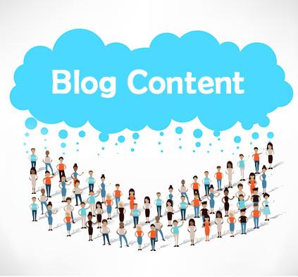 provide blog content