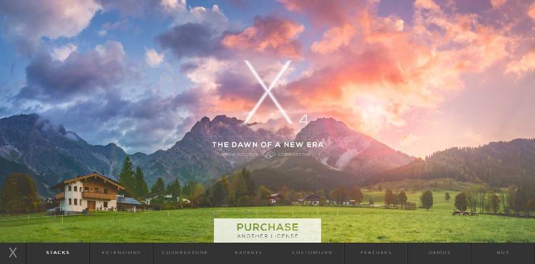 x-one-page-wordpress-theme