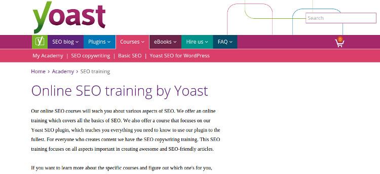 yoast seo courses