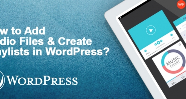 How to add audio files in wordpress