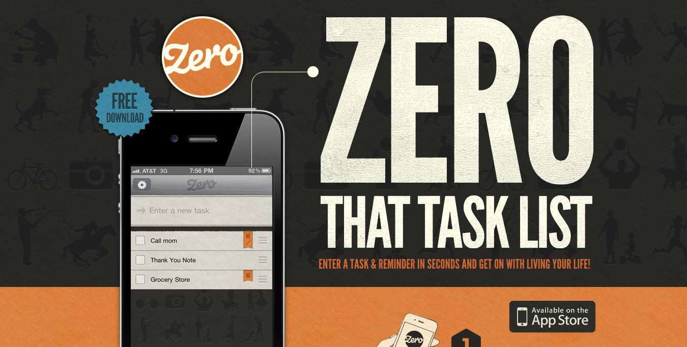 extreme font sizes Zero