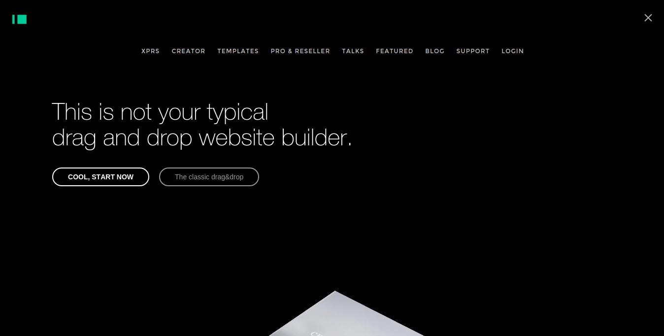 im creator website builder