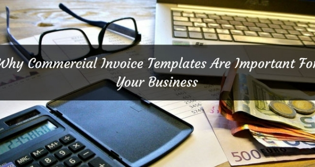 commercial invoice template banner
