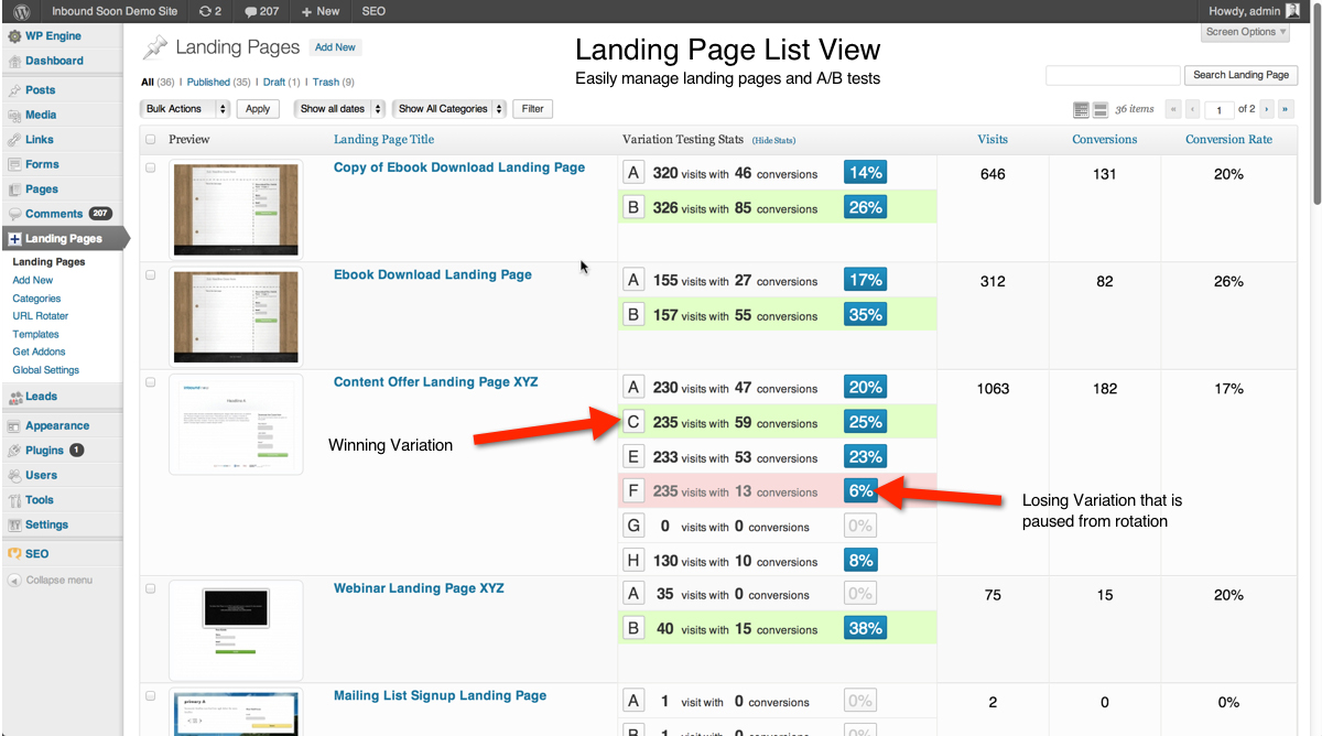 WordPress Landing Pages - Conversion boosting WordPress Plugins