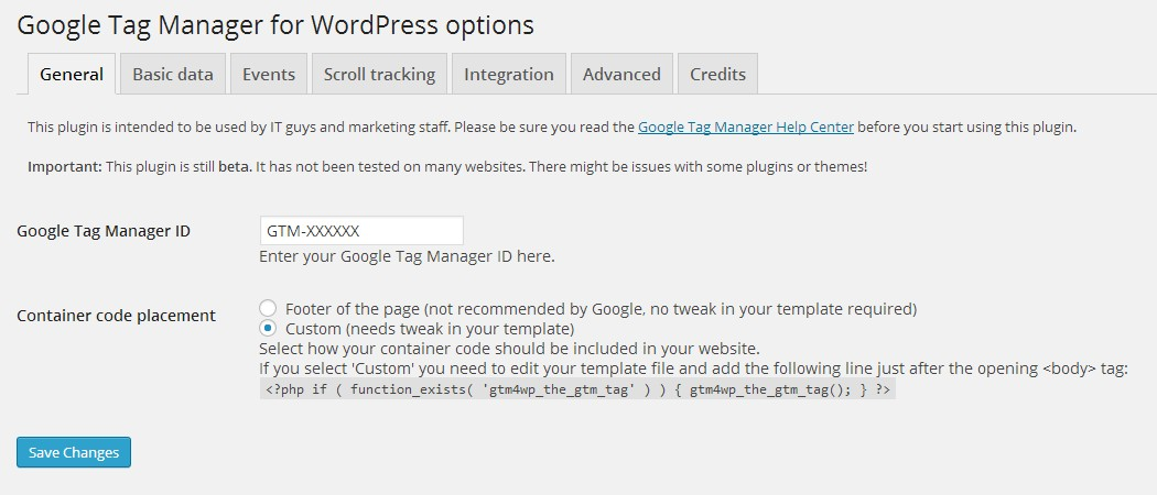 Google Tag Plugin - Conversion boosting WordPress Plugins