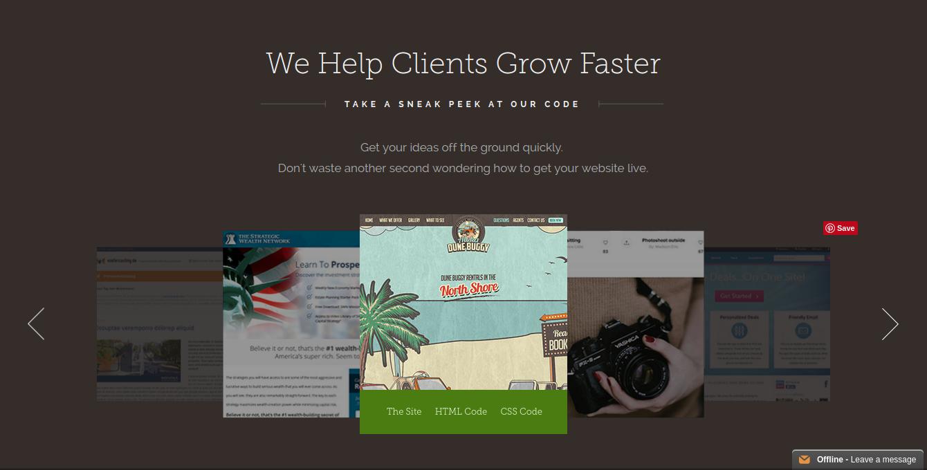 best web design tools- siteslinger