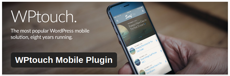 wordpress plugins that improve website usability - WP Touch