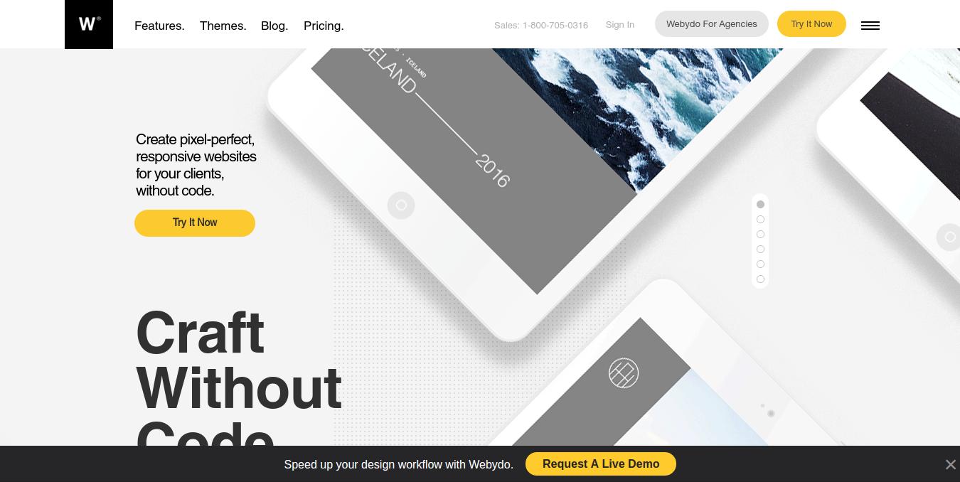 best web design tools- weydo