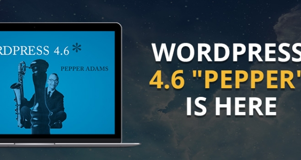 new features in wordpress 4.6 pepper
