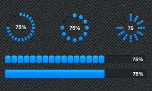 Round-and-Rectangle-Progress-Bar
