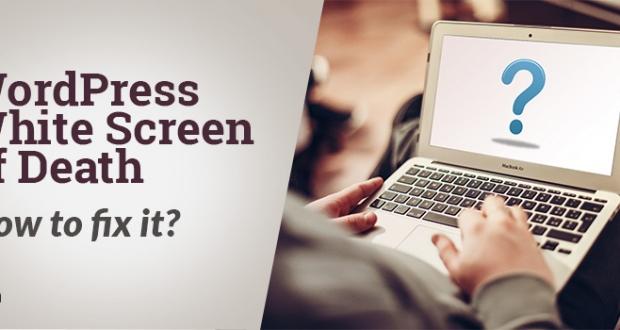 How to fix wordpress blank screen of death