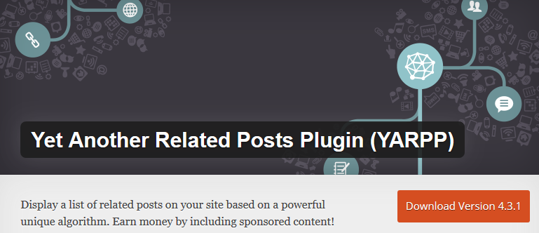 Yet Another Related Posts Plugin (YARPP) - free WordPress plugins