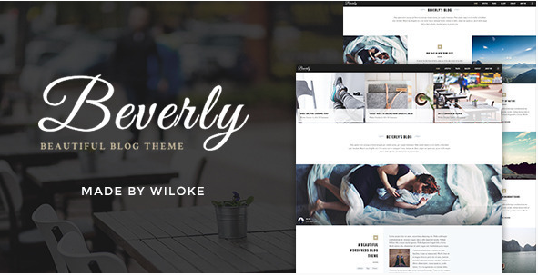 best personal blog wordpress themes - beverly