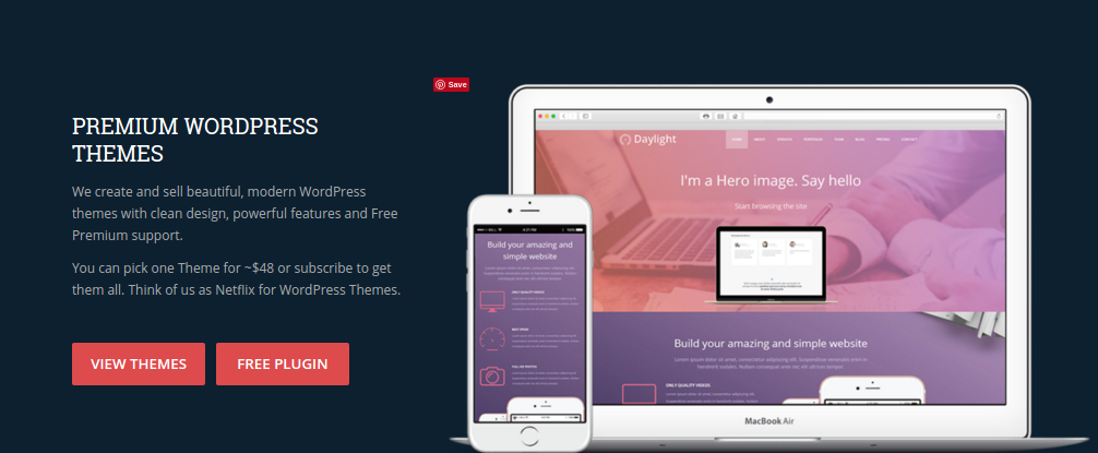 best personal blog wordpress themes - epilog