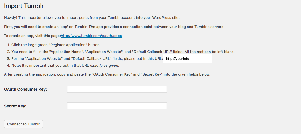 import-tumblr-settings