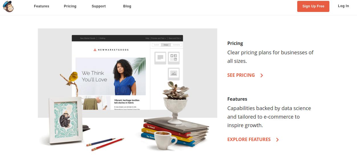Email Marketing Service for Small Enterprises - mailchimp