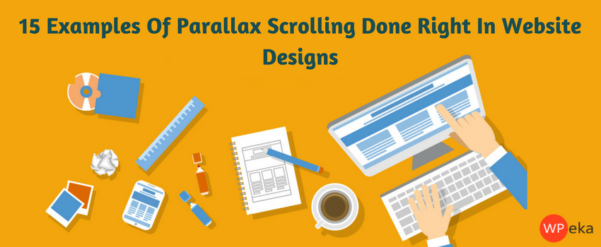 examples of parallax scrolling sites