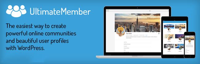 Ultimate member - WordPress custom registration form plugin