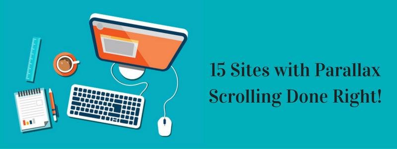 15 Best Parallax Scrolling Websites