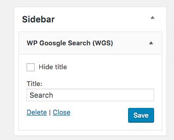 custom-search-sidebar-widget