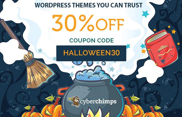 cyberchimps halloween offer