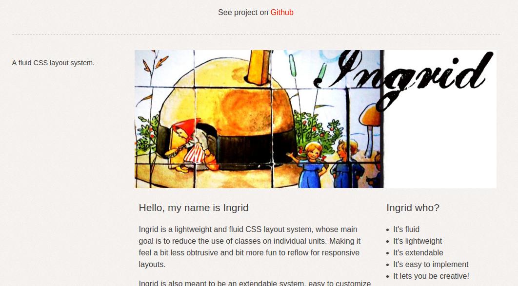 best CSS3 frameworks 2016 - ingrid