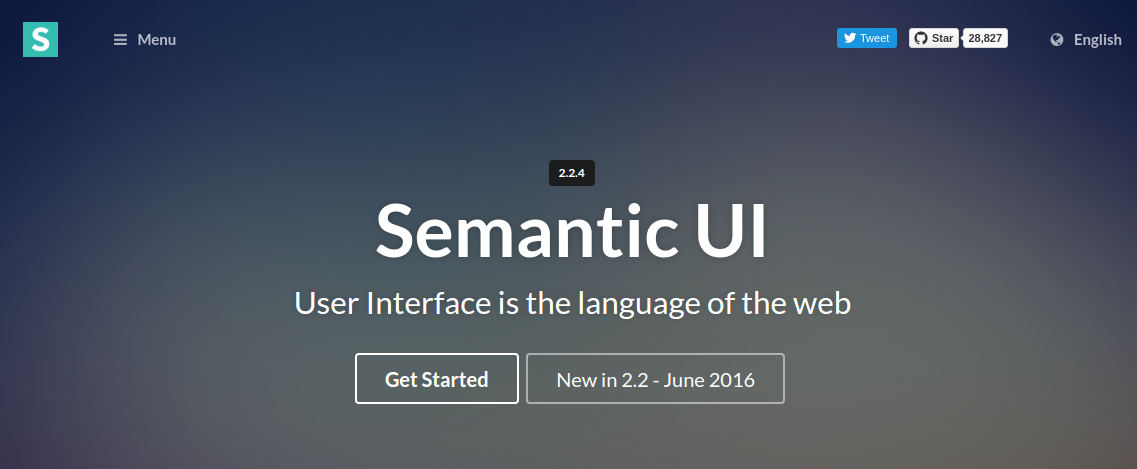 best CSS3 frameworks - semantic UI