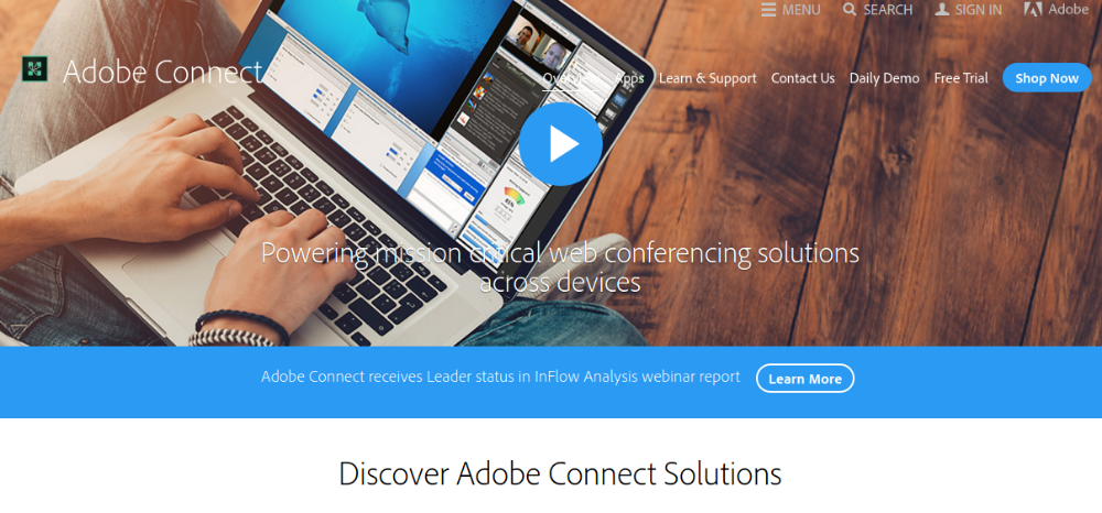 Webinar Softwares for WordPress - Adobe