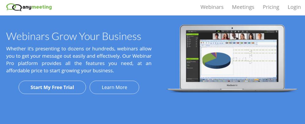 Webinar Softwares for WordPress - anymeeting.com
