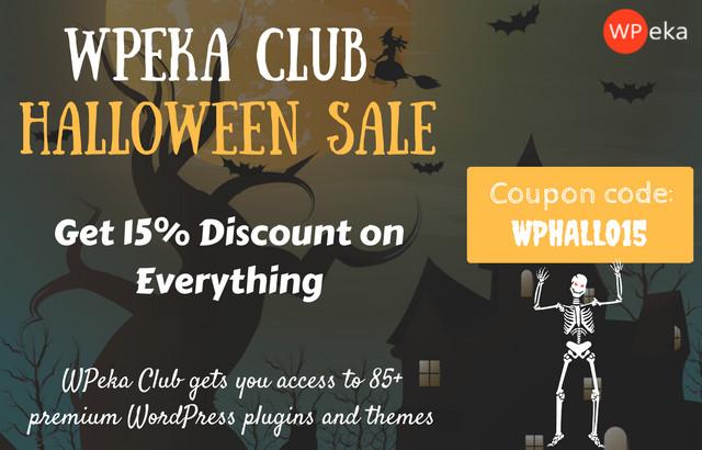 wpeka halloween offer