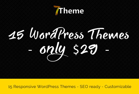 mega deals - WordPress themes