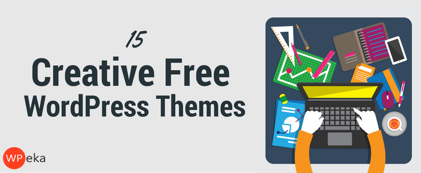 15 free wordpress themes for creatives