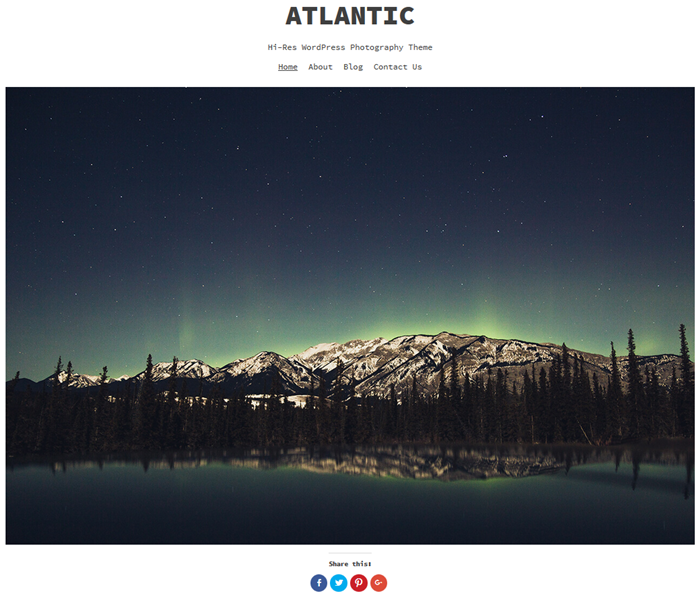 free wordpress theme atlantic