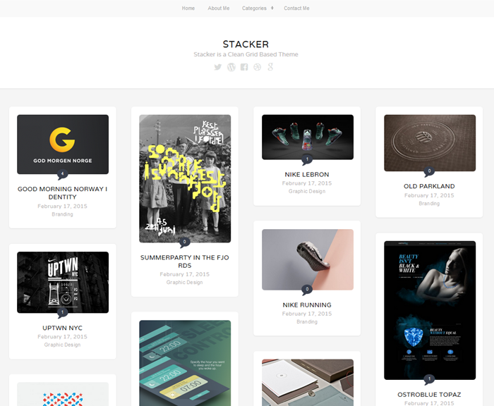 stacker theme for wordpress