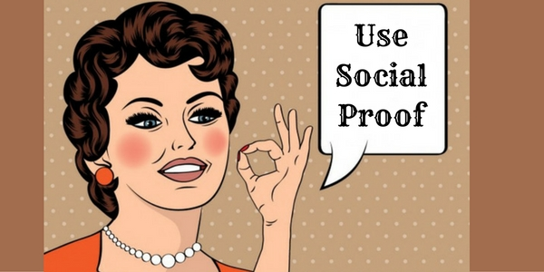 how to boost social media campaign - use social proof