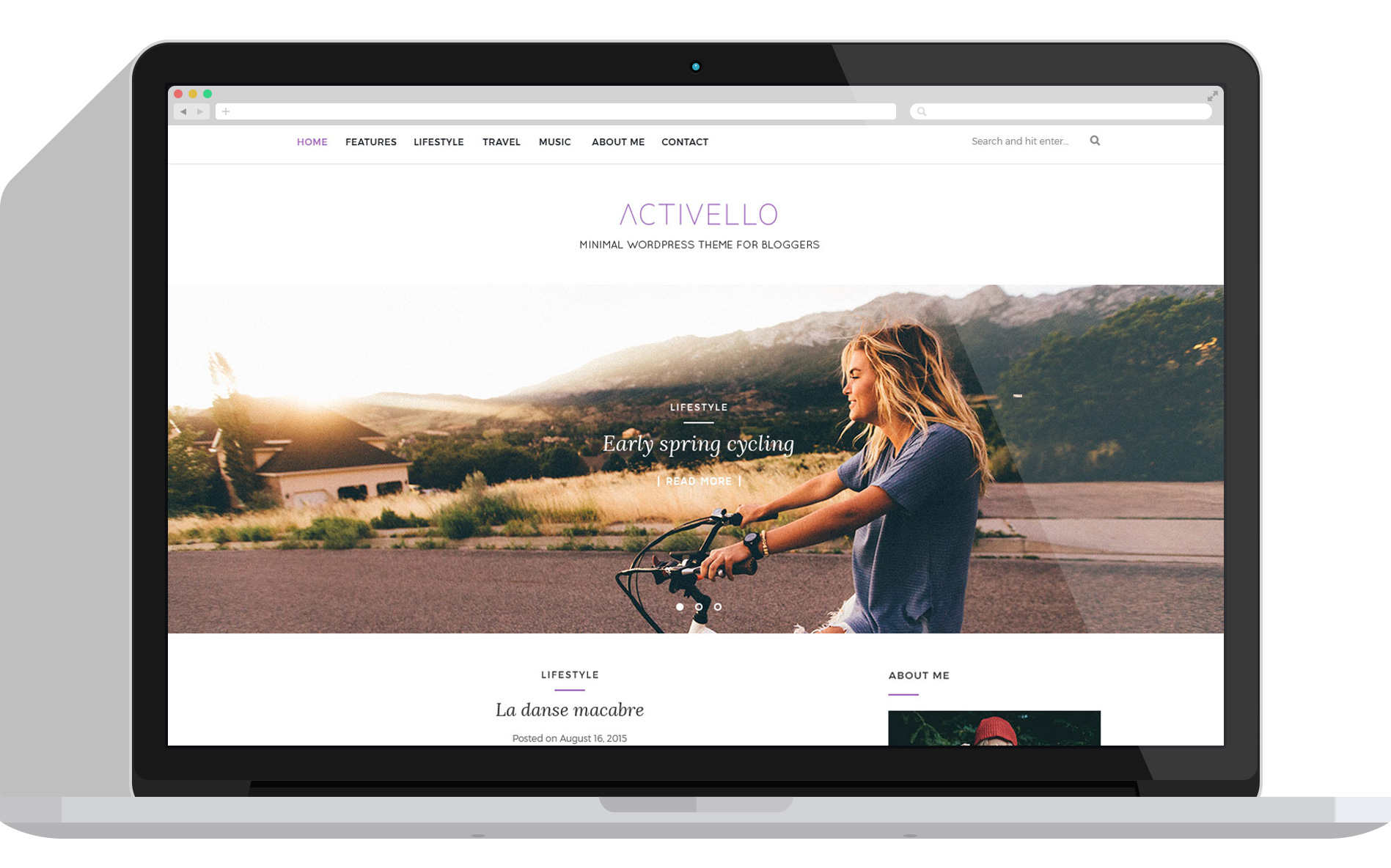 best free responsive WordPress themes - Activello