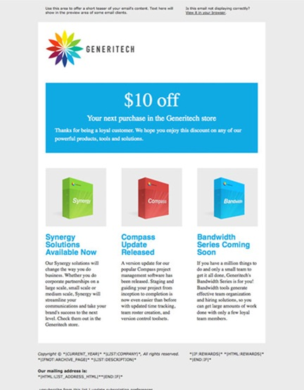 how to make email marketing in indesign