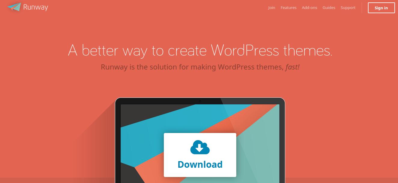 WordPress Theme Frameworks - runwaywp